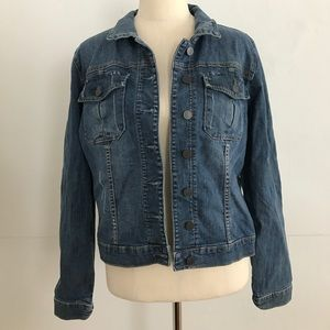 Kut From The Kloth Denim Jacket XL Classic Style